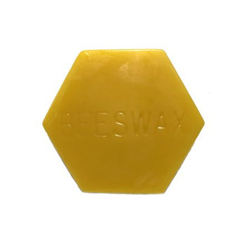 Gentle Bees Premium 2 Ounce Block of Beeswax