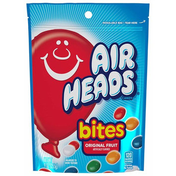 AirHeads Bites, Stand Up Bag, Fruit, Party, 9 Ounce (Bulk Pack of 12)