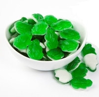 Crystal Temptations Gummy Green Frog 5-Pound Bag
