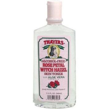Thayer's: Witch Hazel with Aloe Vera, Rose Petal Toner 12 oz (12 pack)