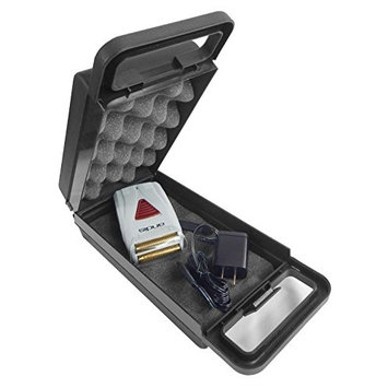Shaver Case For Andis ProFoil Lithium Titanium Foil Shaver 17150 Cordless Electric Razor, Replacement Foils 17160, Charger and Small Grooming Accessories - INCLUDES CASE ONLY