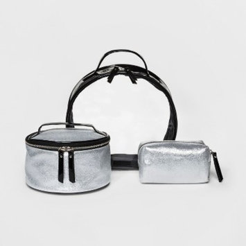 Under One Sky 3pc Set Cosmetic Bag