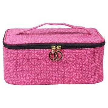 Contents Garden Party Train Case Cosmetic Bag