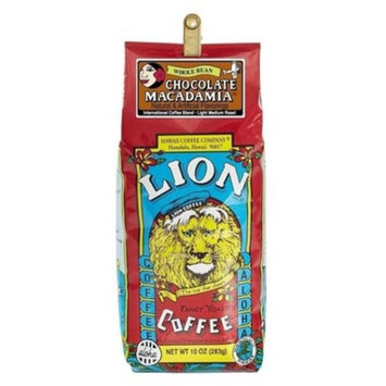 Lion Chocolate Macadamia Medium Roast Whole Bean Coffee - 10oz