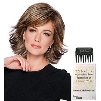 Allure Wig by Hairdo, 15 Page Christy's Wigs Q & A Booklet & Wide Tooth Comb COLOR SELECTED: 1621S+