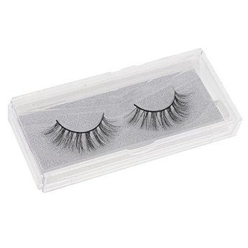 Homyl 1 Pair Makeup False Eyelash Natural Messy Cross Eye Lashes Extensions Tools