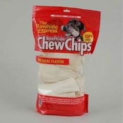 The Rawhide Express Rawhide Chips Recipe Chews Dog Treat, 3 Lb