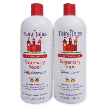 Fairy Tales Rosemary Repel Creme 32 oz. Shampoo + 32 oz. Conditioner (Combo Deal)
