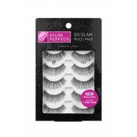 Salon Perfect Glamorous Multi Pack Eyelashes, 105 Black, 4 pr