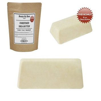 Premium African Shea Butter - 1.5 lbs Shea Unrefined – Organic Double-Filtered Raw Shea Butter Ideal for Moisturizing DIY Beauty Products – Creamy Ivory Shea Butter Melts for Silky Soft Skin