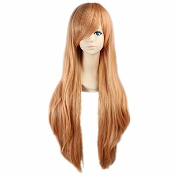 COSPLAZA Cosplay Wigs Long Orange Braids Party Hair Women Anime Synthetic Wig