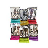 Picky Bars Real Food Energy Bars, Blueberry Boomdizzle, 1.6oz (Pack of 10)