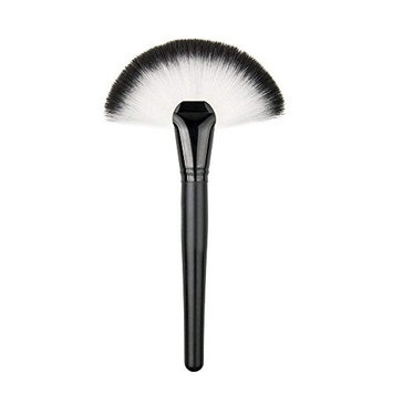 NEJLSD Professional Fan Makeup Brushes,Soft Face Powder Fan Shape Premium Makeup Brush Set, Blending Blush Face Powder Brush Makeup Brush