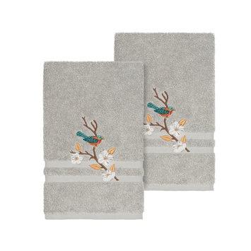 Springtime 2-Pc. Embellished Hand Towel Set