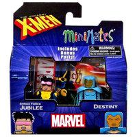 Diamond Select Toys Marvel Minimates Series 60 Strike Force Jubilee & Destiny Minifigure 2-Pack