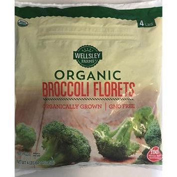 Wellsley Farms Organic Broccoli Florets, 4 lbs.