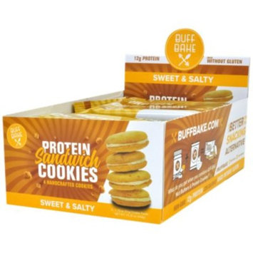 Buff Bake Sandwich Cookie - SWEET & SALTY (8 Cookie(S)) by Buff Bake at the Vitamin Shoppe