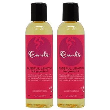 Curls Blissful Lengths Hair Growth Oil 4oz