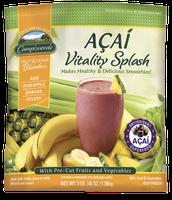 Campoverde Fruit & Veggie Blenders Acai Vitality Splash, 48 oz