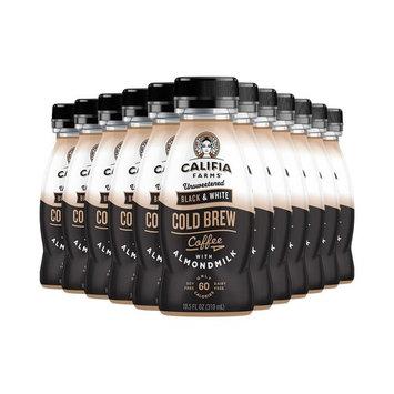 Califia Farms Cold Brew Coffee with Almondmilk, Dairy Free, Plant Milk, Vegan, Non-GMO, Real Pumpkin Puree [Black & White]