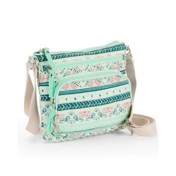 No Boundaries Mint Quilted Crossbody