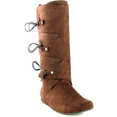 Ellie Shoes 33559 Thomas Brown Adult Boots Size Small 8-9