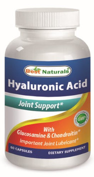 Best Naturals Hyaluronic Acid 100 mg 60