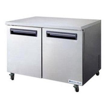 MaxxCold MCR48U 48 in. Undercounter Refrigerator