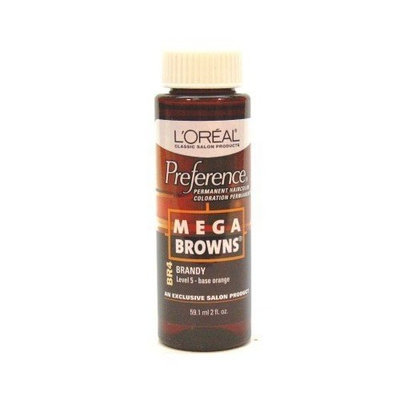 L'Oreal Preference # BR4 Mega Brown Brandy (Case of 6) by L'Oreal Paris