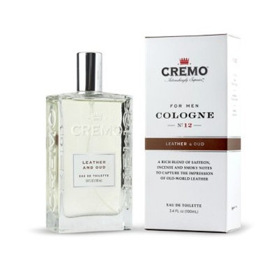 Cremo Spray Cologne Leather & Oud - 3.4oz