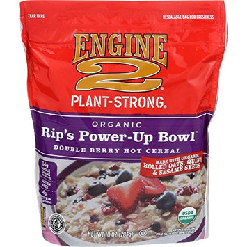 Engine 2, Organic Rip's Power-Up Bowl Double Berry Hot Cereal, 10 oz