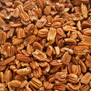 Just harvested Unsprayed Raw Organic Practice 12 oz Certified Pesticide-Free Fresh Texas Native Pecan Halves-Fresh Direct Ship