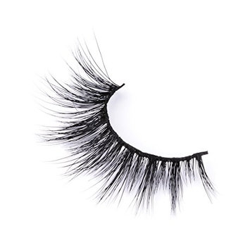 3D Mink Lashes 100% Siberian Handmade Dramatic Wispy Mink False Eyelashes Reusable Faux Eyelash Strip 1 Pairs Pack by EYEMEI