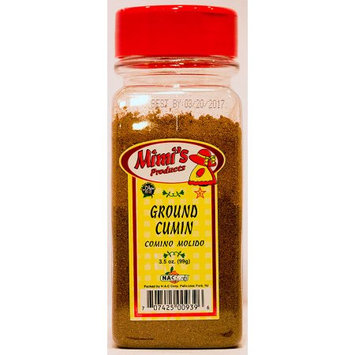 Nac Foods MIMI'S 9.5-GROUND CUMIN 12/3.5 OZ