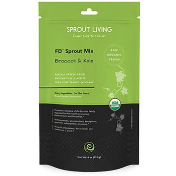 Sprout Living - FD Broccoli and Kale Sprout Powder Mix - 4 oz.