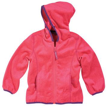 Cozy Cub Toddler Girl Hooded Fleece Jacket - Minky Fleece All-Season Jacket - Hot Pink