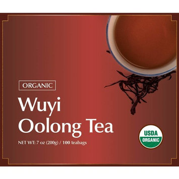 100% Organic Wuyi Mtn. Oolong (Wu Long) Tea 100 Tea Bags, 100 Teabags