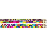 Musgrave Pencil Co Inc MUS2396D Watercolors 12Pk Motivational Fun