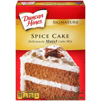 Pinnacle Foods Duncan Hines Signature Cake Mix, Spice Cake, 16.5 Oz