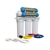 Aquasafe Aquarium II - 7 Stage RO/DI Water Filtration System (100 GPD)