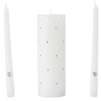 Wilton GRACEFUL WEDDING DAY UNITY CANDLE-TAPER CANDLES