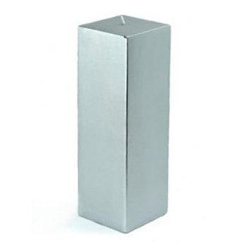 Eziba Pillar 3x9-inch Square Candles (Pack of 12)