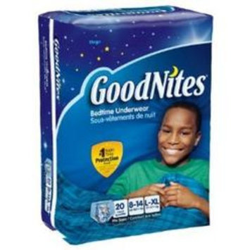 GoodNites Disposable Underwear for Boys Jumbo Large/X-Large - Pack of 12
