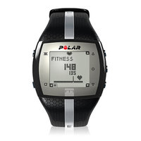 Polar FT7 Training Computer Watch Displays Workout Summary & Smart Coaching - Black/Silver