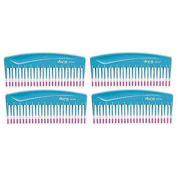 Mebco Fromm Volume Detangler Turquoise 4 Pieces