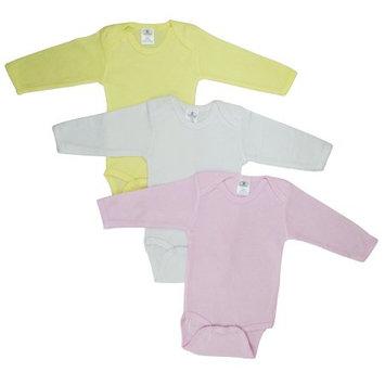 Bambini Boy's Pastel Long Sleeve Onezie Newborn