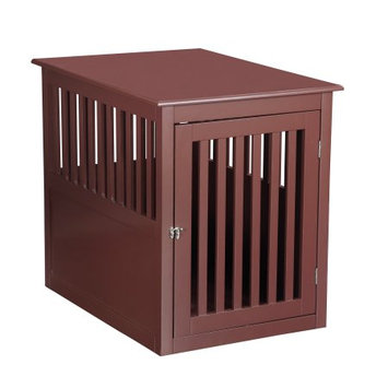 Pet Hup Hup PetHupHup Dog House Pet Chest End Table Brown