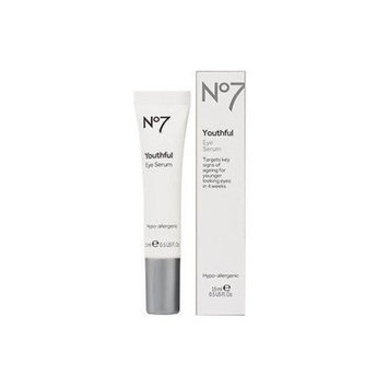 Boots No7 Youthful Eye Serum 0.5 fl oz (15 ml) package of 1