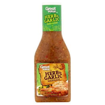 Great Value Herb & Garlic Marinade, 12.25 oz (3 Pack)