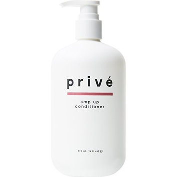 Privé Amp Up Conditioner ( 16 Fluid Ounce / 473 Milliliter ) - Infuse Hair With Weightless Volume and Wonderful Shine While Detangling Those Knots Away